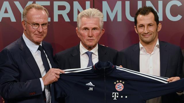 """Bayern-Bosse schwärmen von Heynckes: """"Mit Jupp macht es Spaß"""""""