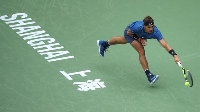 Rafa Nadal supera Dimitrov e vola in semifinale a Shanghai: sfiderà Marin Cilic