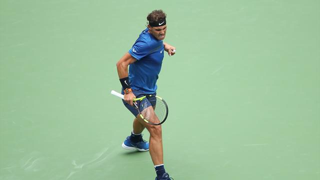 Halbfinale! Nadal ringt Dimitrow nieder