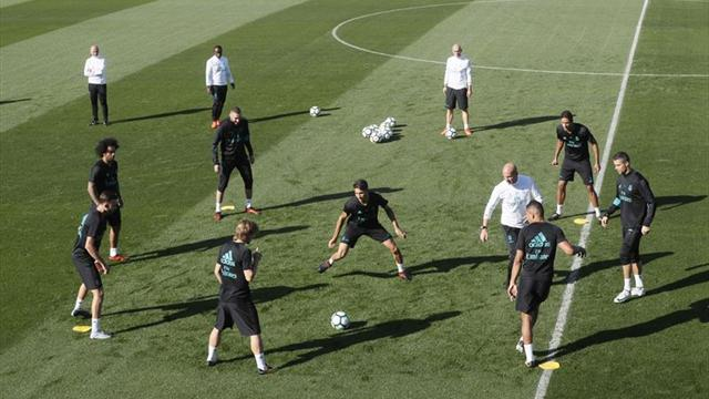 Benzema, Marcelo y Theo entrenan con el grupo y pueden reaparecer en Getafe