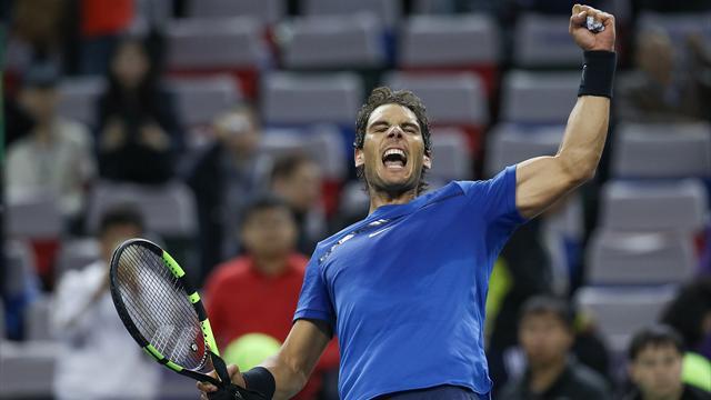 Nadal overcomes Dimitrov to make Shanghai Masters semi