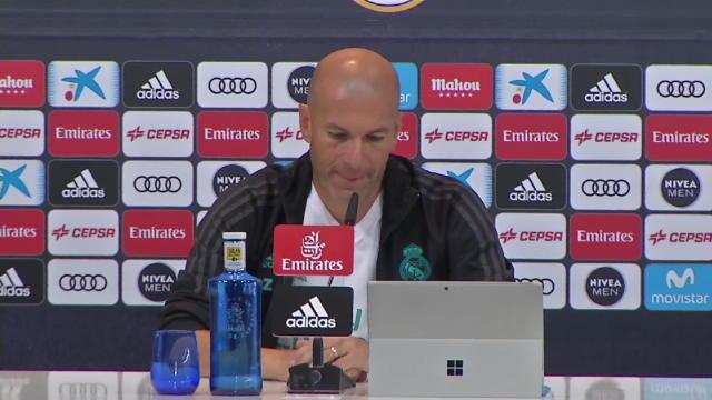 """Zidane : """"Aujourd'hui je suis un entraîneur confirmé"""""""
