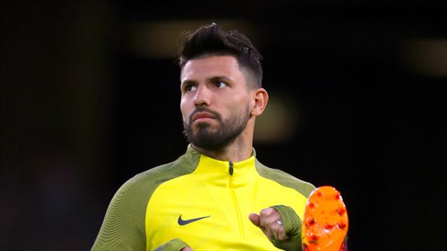 Aguero in contention to play after car accident