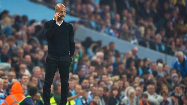 """Guardiola: """"Agüero no está al 100% pero se ha recuperado bien"""""""