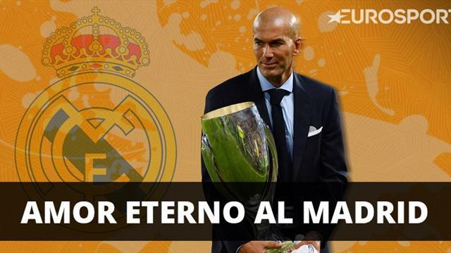 La frase que más deseaba el madridismo de un Zidane centenario