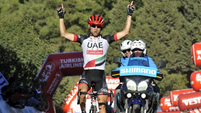 Ulissi claims queen stage to claim overall lead in Turkey