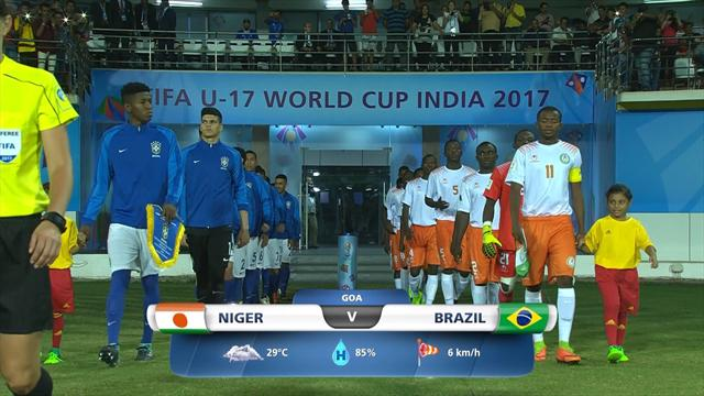 Mondiale Under 17: gli highlights di Niger-Brasile