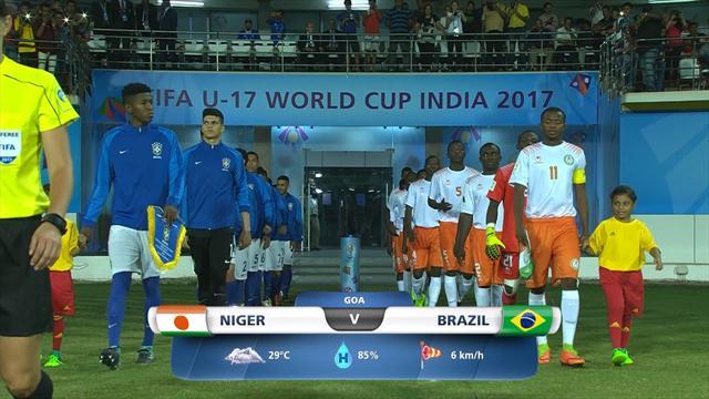Mondiale Under 17: gli highlights di Niger-Brasile
