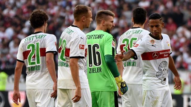 Aufstellung: VfB mit Terodde, Ginczek und Pizarro auf der Bank