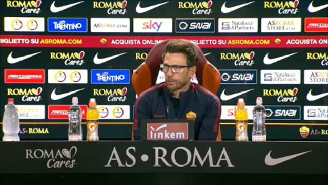 """Di Francesco: """"Dzeko mi ricorda Van Basten per caratteristiche"""""""