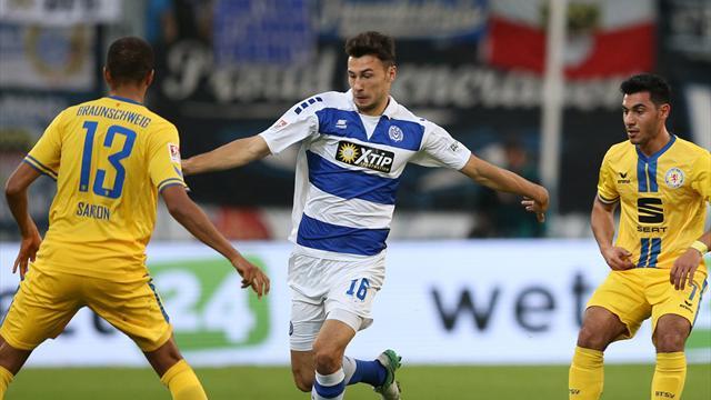 0:0 gegen Braunschweig: Duisburg weiter ohne Heimsieg