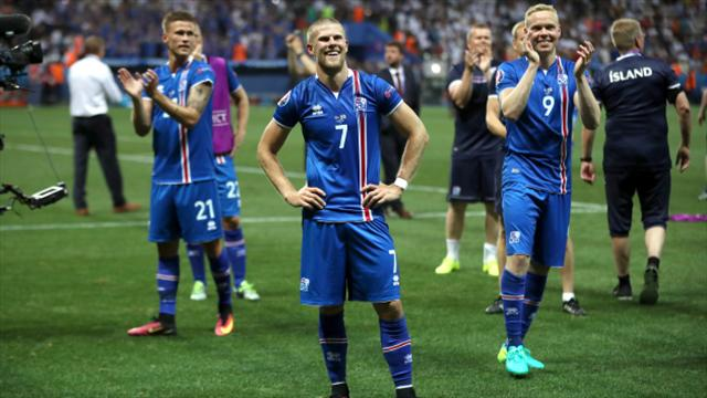 Iceland forward Johann Berg Gudmundsson wants to face England in the World Cup