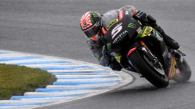 Zarco claims surprise pole in Japan, Marquez third
