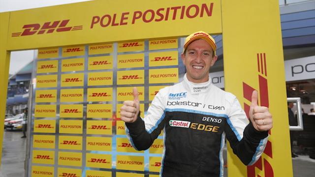 Qualifying report: WTCC pole bingo at Ningbo for Girolami