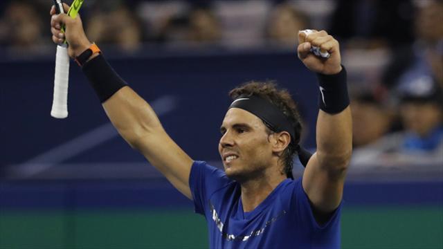 Rafael Nadal reaches Shanghai Masters final