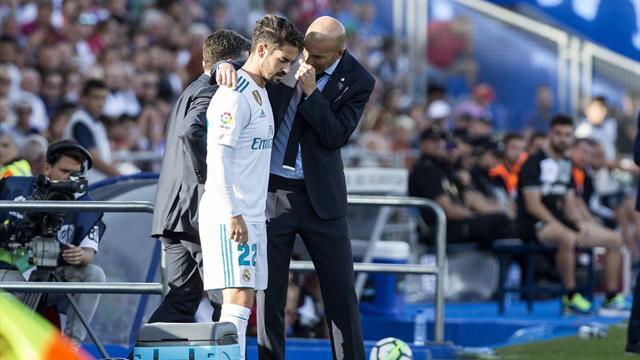 Zidane a tranché : Isco titulaire, Bale sur le banc