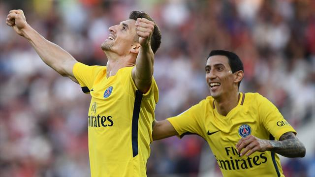 Meunier's late strike earns PSG victory