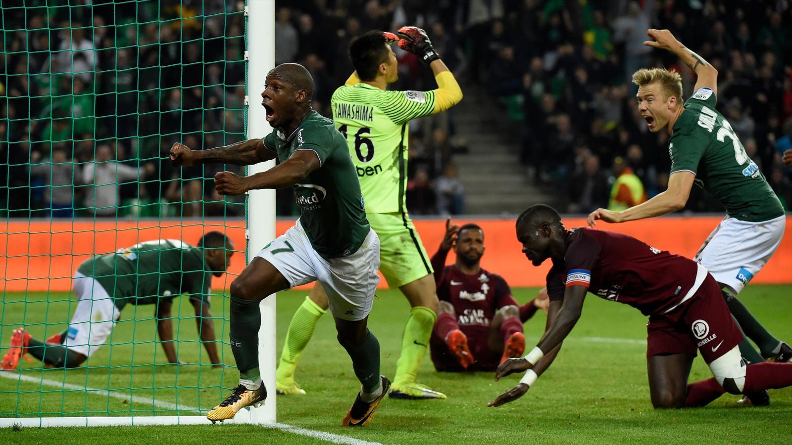 St Etienne Grimpe Sur Le Podium Rennes Coule Un Peu Plus