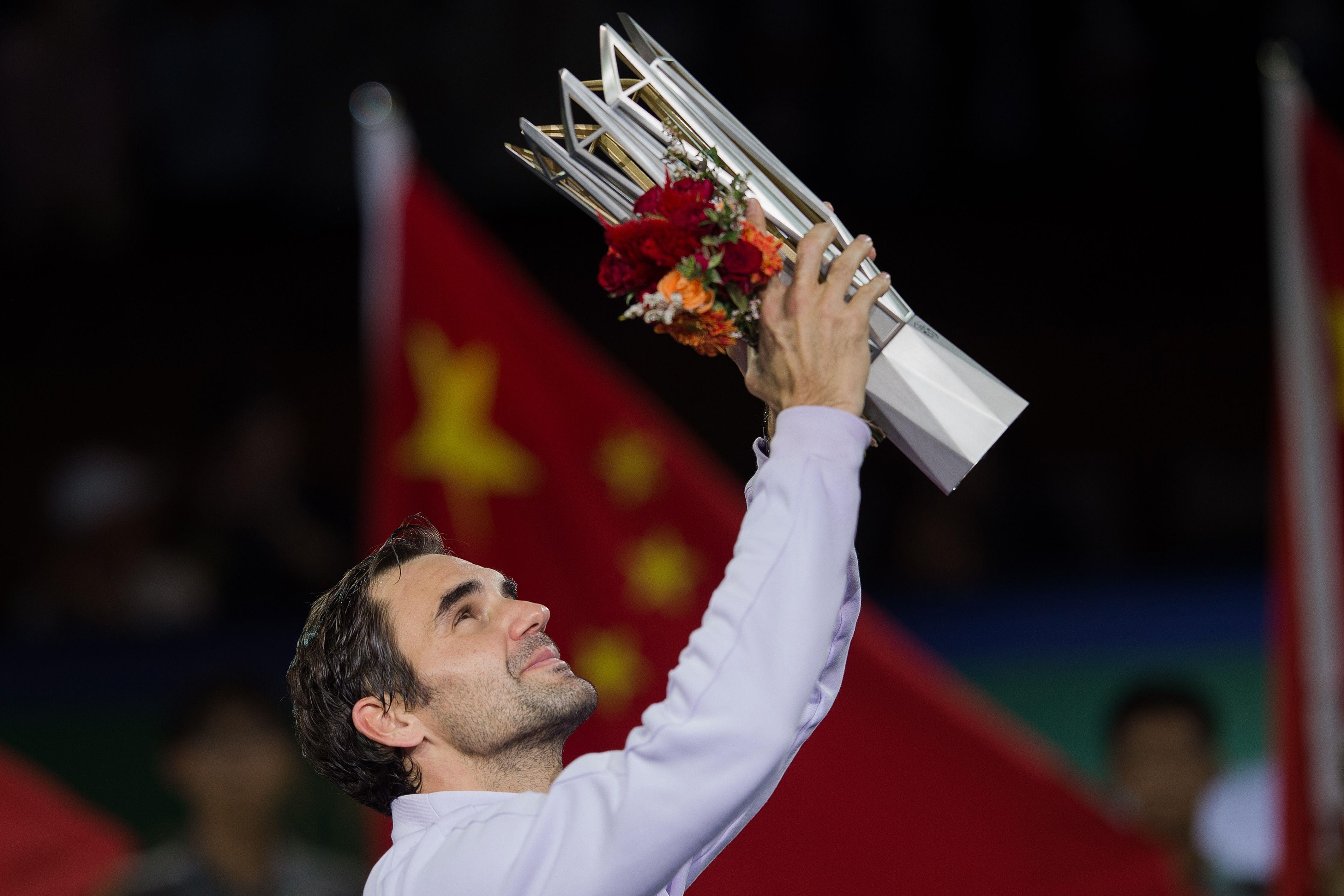 Roger Federer à Shanghai