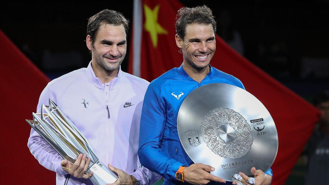 Roger Federer Cruises Past Rafael Nadal To Win Shanghai Masters Shanghai Masters  Tennis Eurosport Uk
