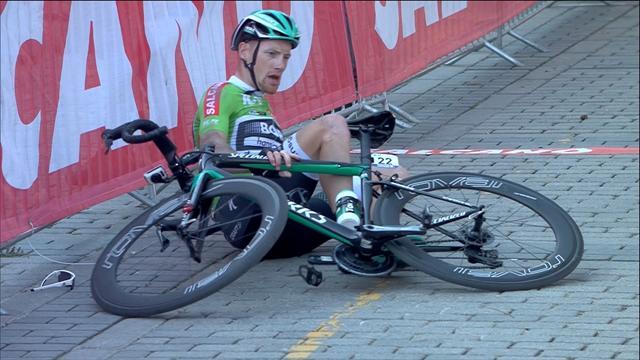Tour de Turquía: La caída que impidió a Sam Bennett luchar por la última etapa