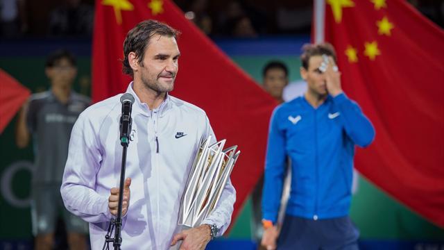 Шанхайский краб. Надаль преклонился перед Федерером еще до начала матча
