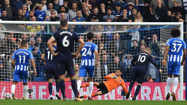 Malgré Rooney, Everton n'y arrive toujours pas avant l'OL
