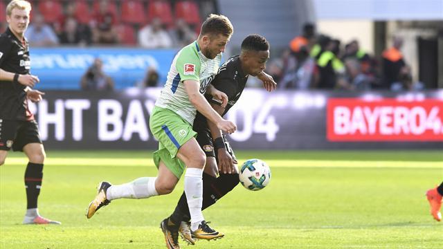 Leverkusen et Wolfsburg dos à dos