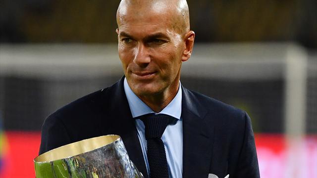 Зидан – тренер года по версии ФИФА