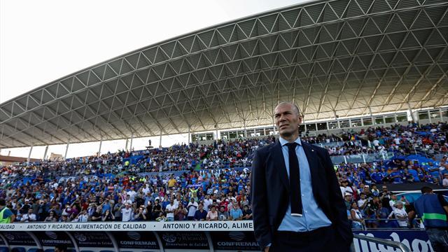 """Zidane : """"Nous voulons montrer que la Liga est meilleure que la Premier League"""""""