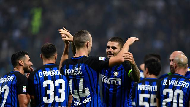 Хет-трик Икарди принёс «Интеру» победу над «Миланом»
