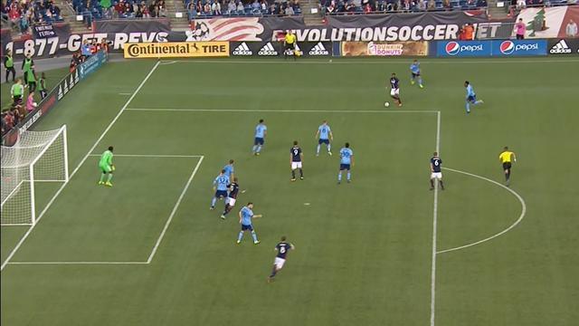 MLS: New England Revolution-New York City Fc 2-1, gli highlights