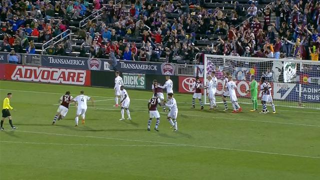 MLS: Colorado Rapids-Real Salt Lake 1-0, gli highlights