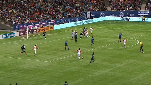 MLS: Vancouver Whitecaps-San Jose Earthquakes 1-1, gli highlights