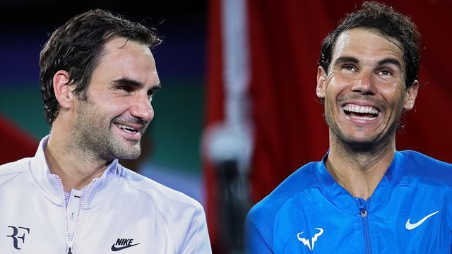 Nadal sur Federer : «S'il essaie de refaire sa saison, pas sûr qu'il ait autant de réussite»