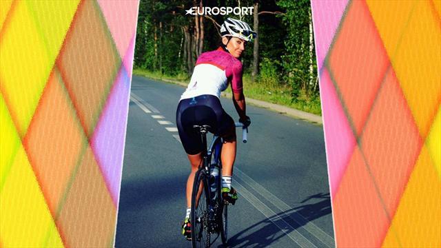 15 фото Малены, которая делает велоспорт прекрасным