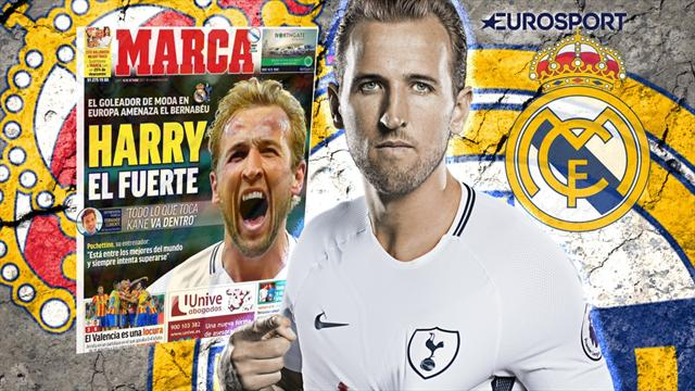 Euro Papers: Real Madrid take aim at Kane as Benzema and Bale head for door