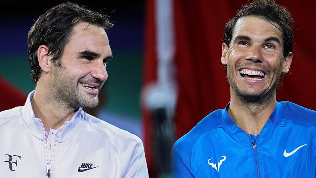 Nadal has dig at Federer for avoiding him on clay
