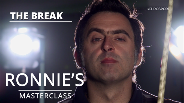 Ronnie's Masterclass: How to do the perfect break