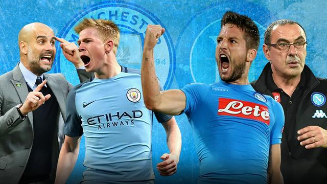 City - Napoli : le foot en folie