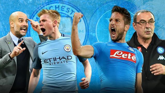 City-Napoli : le foot en folie
