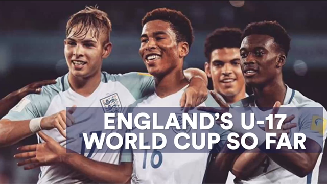 England's U17 World Cup so far