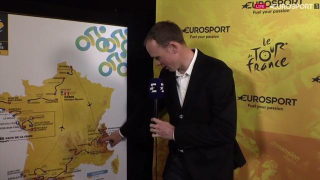"Froome: ""Será un Tour durísimo y me gustaría ganar en Alpe D'Huez"""