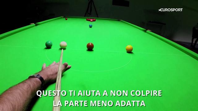 VIDEO - A lezione di snooker da Ronnie O\'Sullivan: l\'imbucata ...