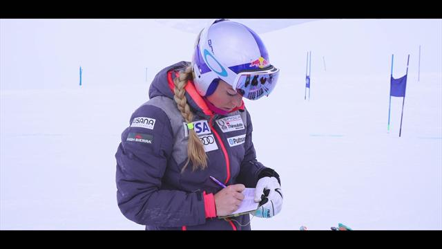 Lindsey Vonn: What's in my notebook?