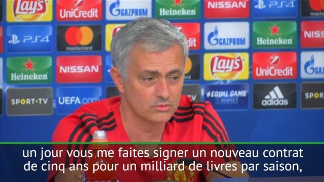 "José Mourinho : ""Je ne pars pas au PSG"""