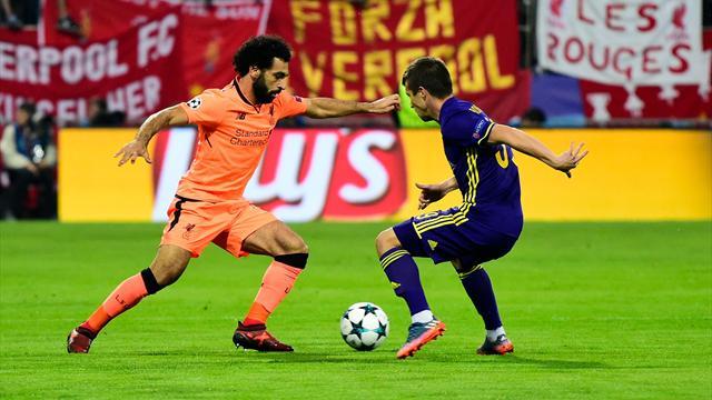 Liverpool atomise Maribor, Dortmund au bord du vide