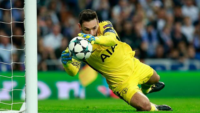 Tottenham keeper Lloris out for at least two weeks