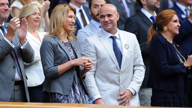 Kein Tag wie jeder andere: Steffi Graf und Andre Agassi heiraten