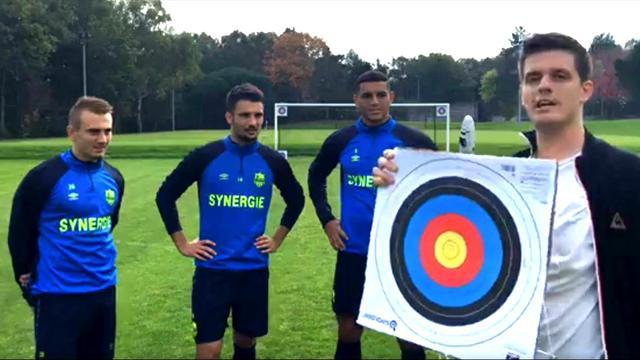 Cibles et gages : le FC Nantes a relevé l'Eurosport Challenge